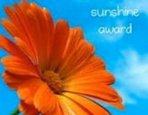 The Sunshine Award 2
