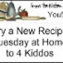 Home to 4 kiddos - try a new recipe