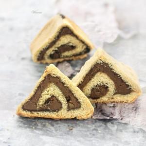 Yeast Shortbread Triangular Hamentachen