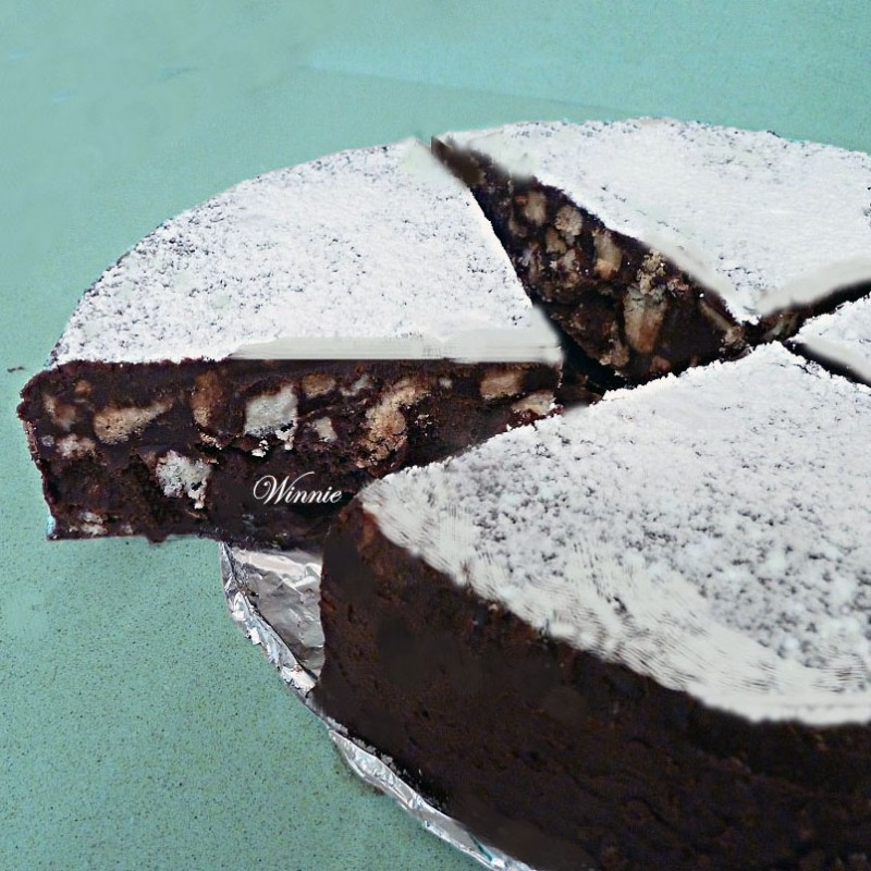 No-bake Chocolate-biscuit Cake