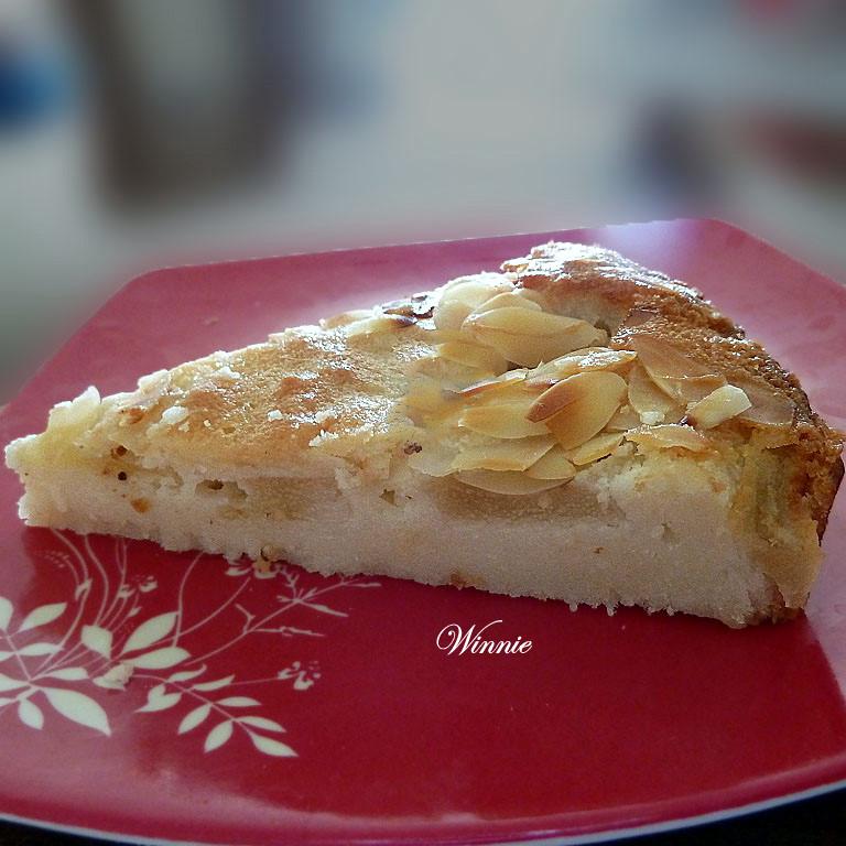 Unique Pear & Almond Tart