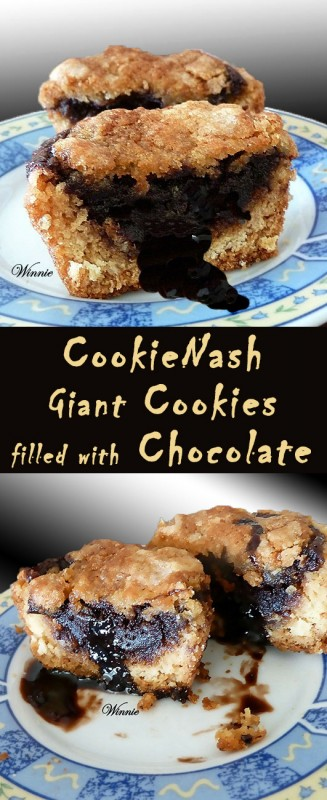 CookieNash-Giant Cookies filled with Chocolate