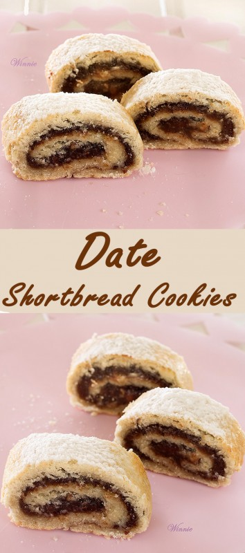 Date Shortbread Cookies