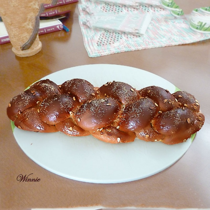 Challahs and Rolls, sweetened with Date Spread