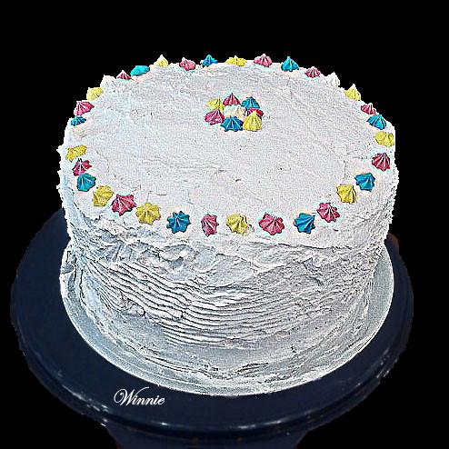 Neapolitan 5-Layer Cake