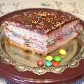 עוגת+תותים+עם+שוקולד+וסוכריות+M&M-ד