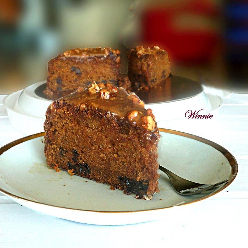 ... Chocolate-chip Cake with Honey Glaze -משהו מתוק – הבלוג