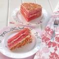 עוגת מיץ פטל ורודה-ו