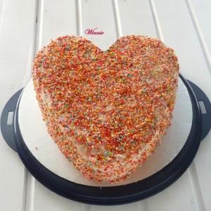 Pink Lemonade Marbel Cake