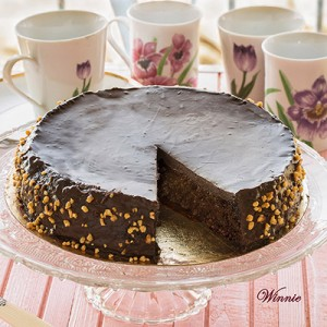 Quinoa chocolate cake