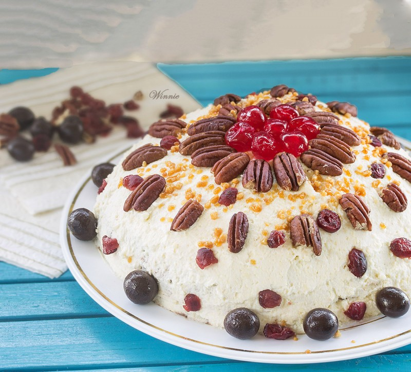 Unique Cheesecake with Homemade Cheese