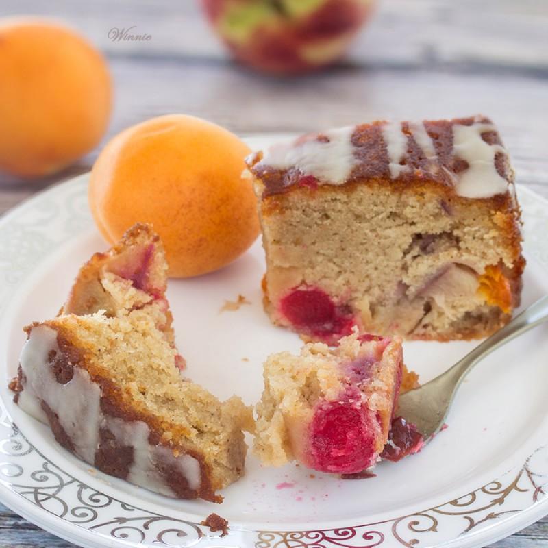 Summer Fruit Cake