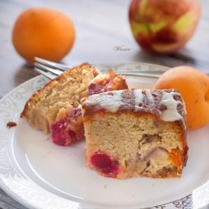 עוגת פירות קייצית נהדרת