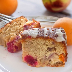 Summer Fruit Cake