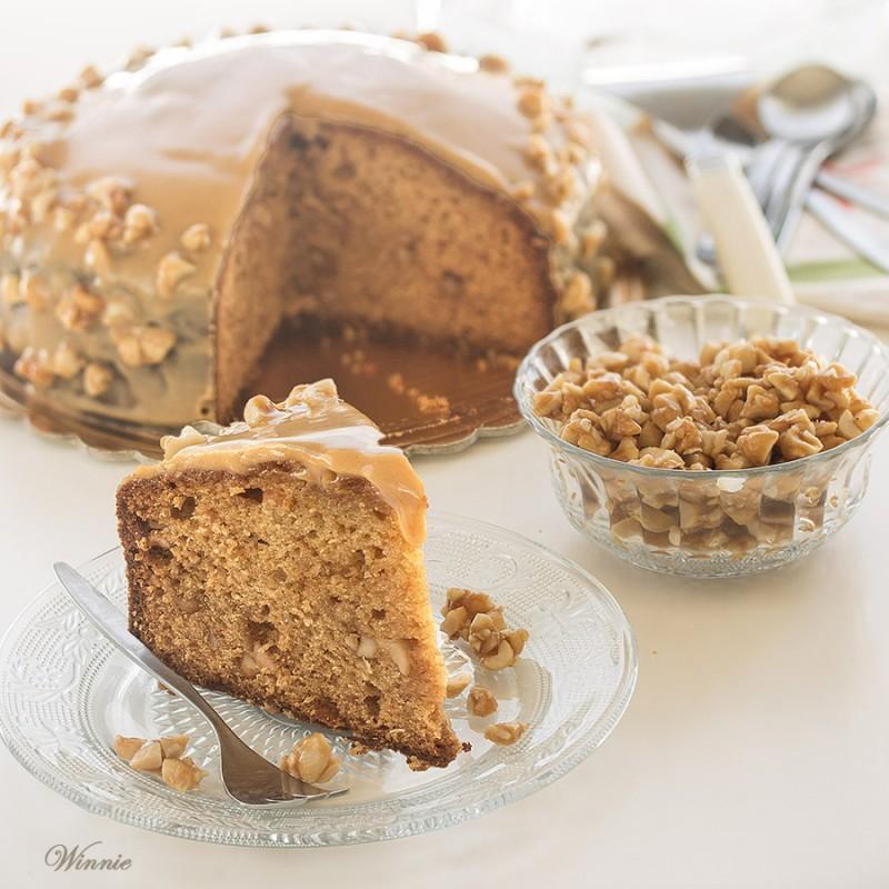 Peanut-Butter Honey Cake