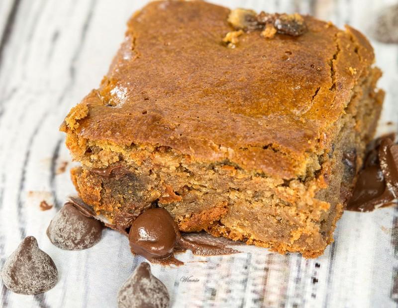 Sesame-Butter, Honey & Chocolate Bars - Gluten Free