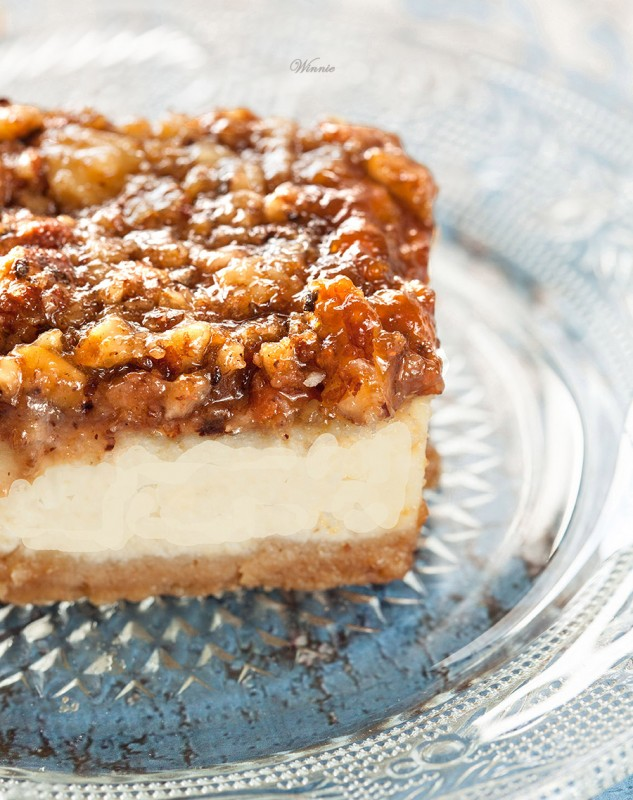 Caramel Hazelnut & Pecan Cheesecake