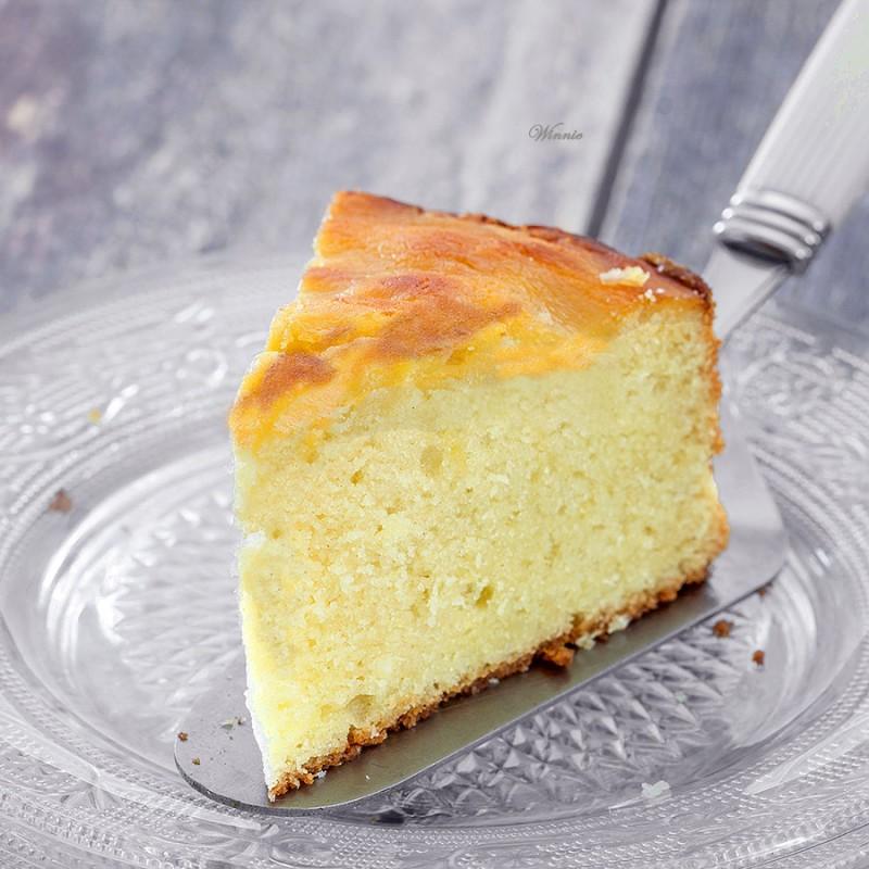 Orange Curd Cake