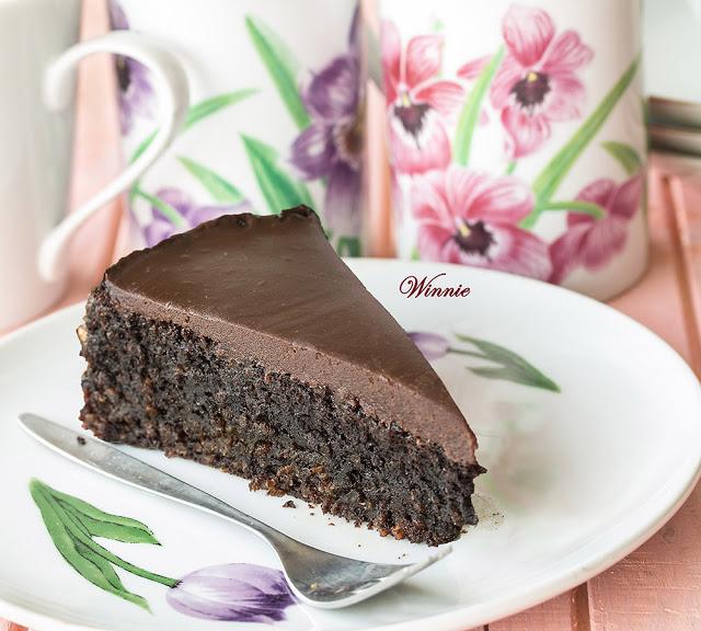 Something Sweet - Quinoa Chocolate Cake - gluten free