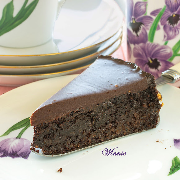 Something Sweet - Quinoa Chocolate Cake - gluten free