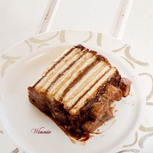 Snickers Cake - Something Sweet - Winnie's blog