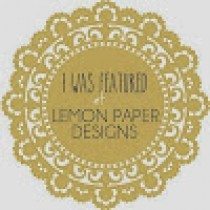 Lemon paper designs