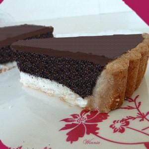 Poppy-Chocolate Tart