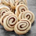Cinnamon-Swirl Eggless Shortbread Cookies