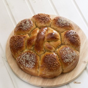 Rich Honey (or Date-syrup) Challah