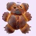 Teddy-bear and Flowers Challlahs