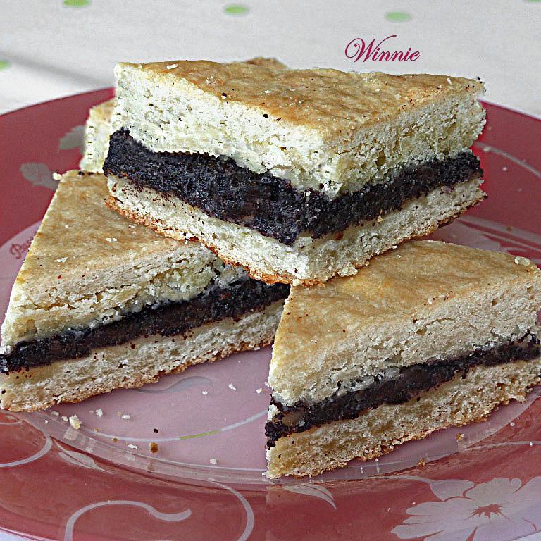 Poppy-Seed Shortbread Bars