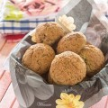Gluten-free Rolls, made with potato-starch, cheese and nuts