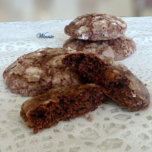 Chocolate Cottage-Cheese Cookies
