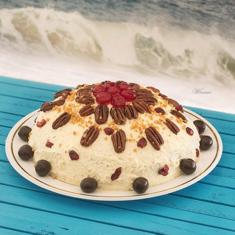 עוגה גבינה מיוחדת מגבינה בהכנה ביתית-אא