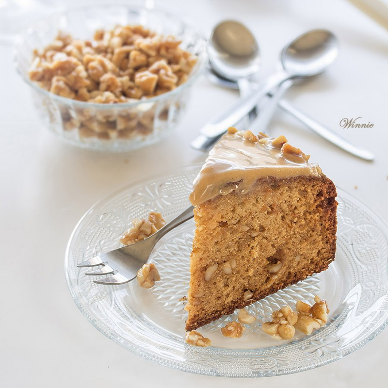 Peanut-Butter Honey Cake