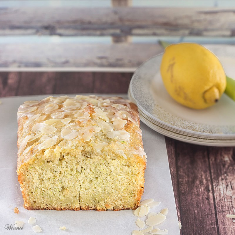 Zucchini Lemon Cake with Lemon Glaze