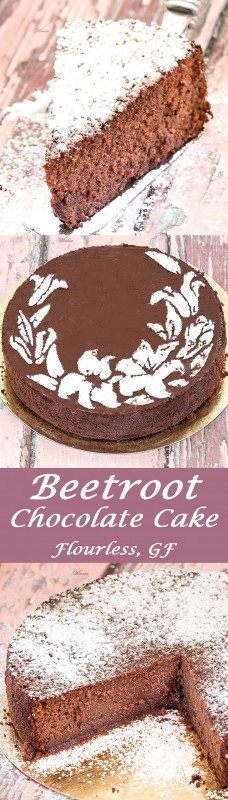 Flourless Beetroot Chocolate Cake - Gluten Free