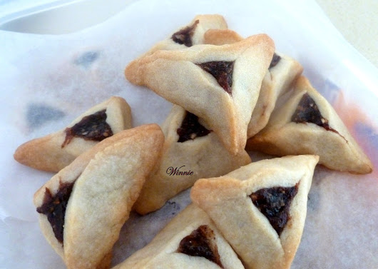 No-egg Shortbread Hamentashen